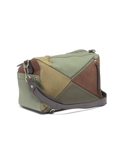 Loewe 'Puzzle' XL leather and canvas bag