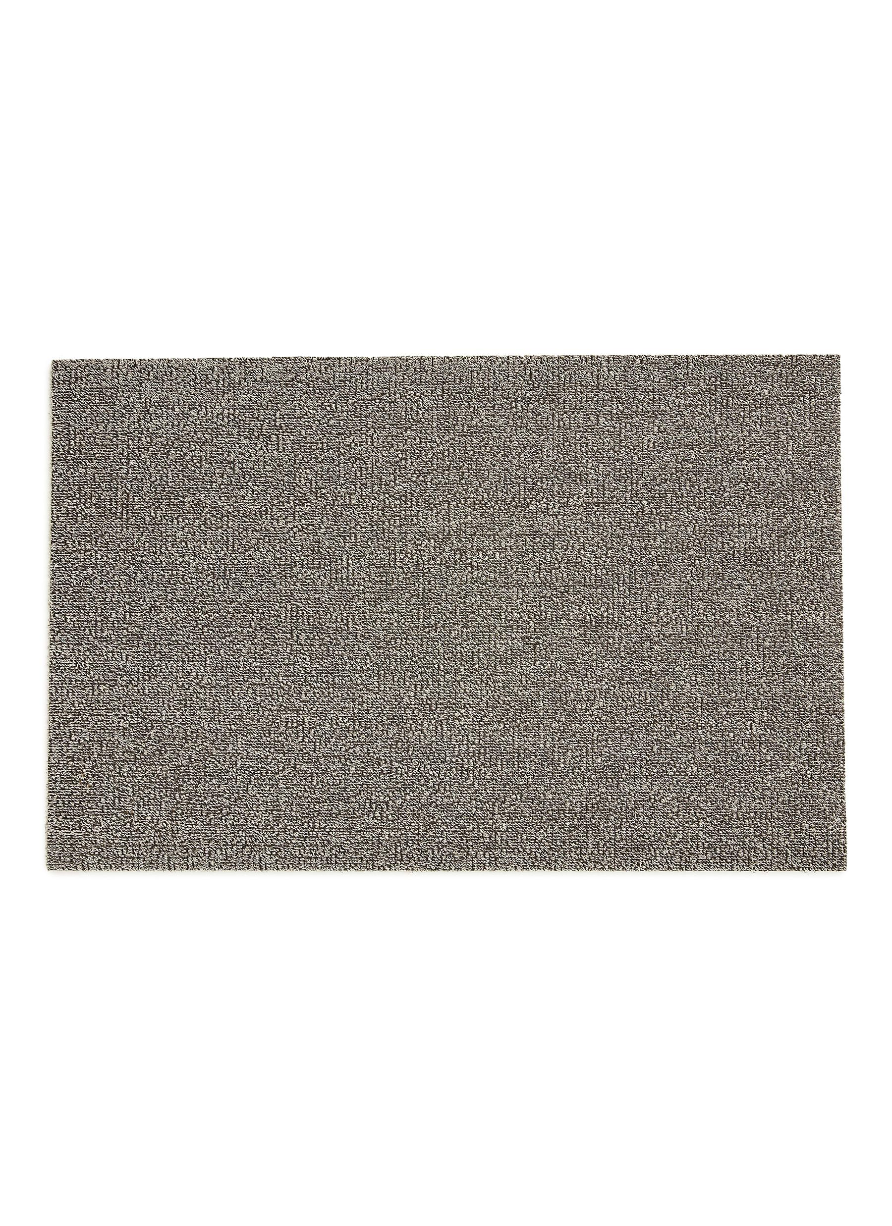 Main View   Click To Enlarge   Chilewich   Shag Heathered Doormat U2013 Fog