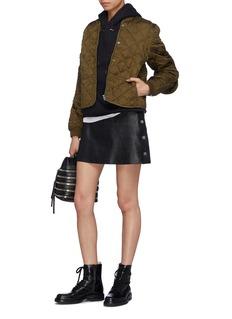 Proenza Schouler PSWL care label appliqué quilted jacket