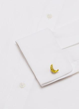Figure View - Click To Enlarge - BABETTE WASSERMAN - Banana cufflinks
