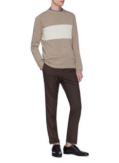 Eidos Colourblock stripe cashmere sweater