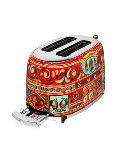 Smeg x Dolce & Gabbana two slice toaster