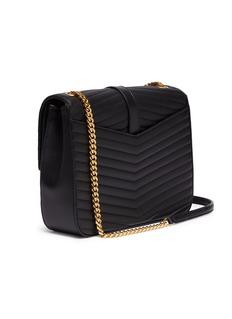 SAINT LAURENT 'Sulpice' medium matelassé leather shoulder bag