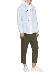 Noon Goons 'Alameda' stripe denim shirt
