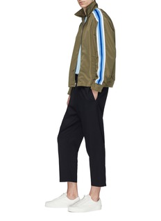 Noon Goons Stripe sleeve track jacket