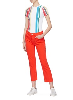 PH5 Stripe rib knit top