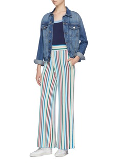 PH5 Colourblock stripe wide leg jumpsuit