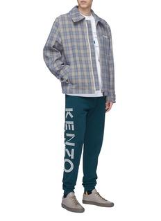KENZO Logo print outseam jogging pants