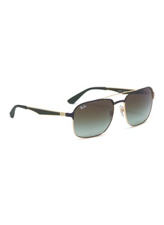 Ray-Ban 'RB3570' metal square sunglasses