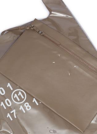 - Maison Margiela - PVC coated leather tote bag