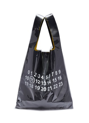Main View - Click To Enlarge - Maison Margiela - PVC coated leather tote bag