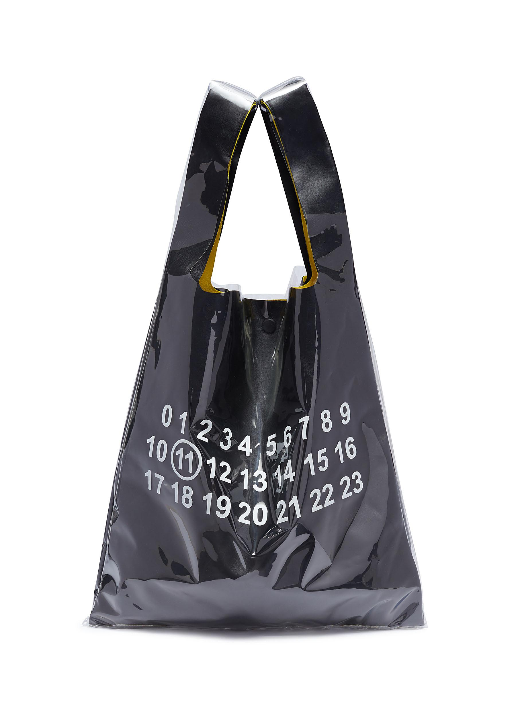 a0659bf863ba7 Main View - Click To Enlarge - Maison Margiela - PVC coated leather tote bag