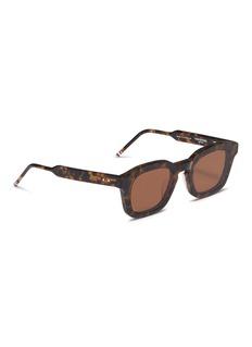 Thom Browne 'Tokyo' tortoiseshell acetate square sunglasses