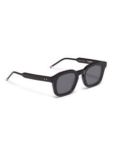 Thom Browne Acetate square sunglasses