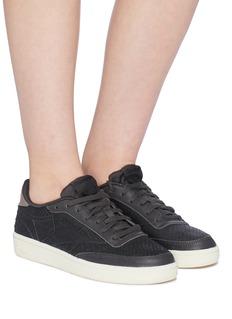 Reebok 'Club C 85' web embossed patchwork sneakers