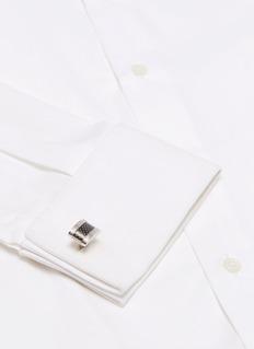Tateossian Carbon fibre cufflinks