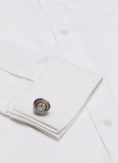 Tateossian Vintage gear Quartz watch cufflinks