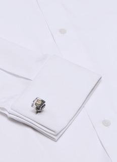 Tateossian Pyrite cufflinks