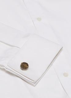 Tateossian Ammonite Negative cufflinks