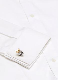 Tateossian King Skull cufflinks