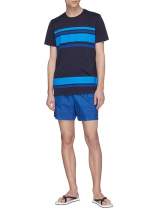 Figure View - Click To Enlarge - DANWARD - Stripe T-shirt