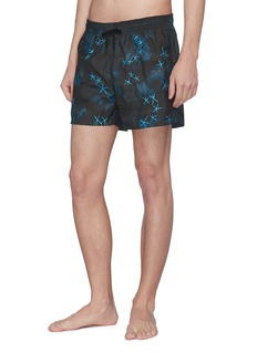 DANWARD 'Capri' starfish embroidered swim shorts