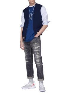 FDMTL Rip-and-repair jeans