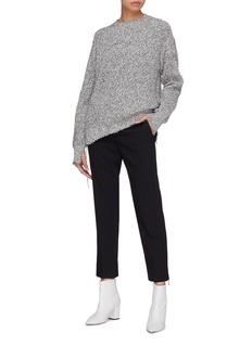 Helmut Lang Oversized distressed sweater