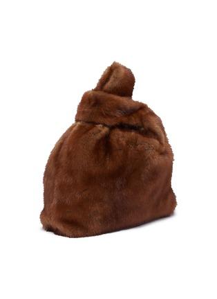 Detail View - Click To Enlarge - SIMONETTA RAVIZZA - 'Furrissima' mink fur sac bag