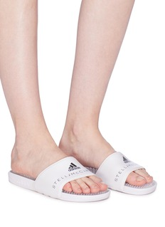 Adidas By Stella Mccartney 'Adissage' textured insole rubber slide sandals