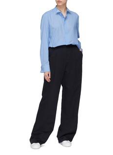 J.Cricket 'Tuxedo' winged collar shirt