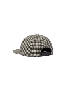 Maison Michel 'Hailey' houndstooth baseball cap