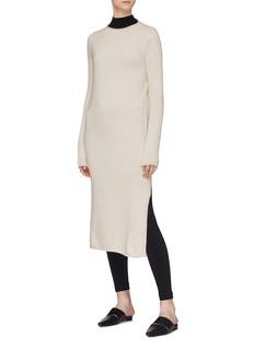 Mijeong Park Side split WHOLEGARMENT™ knit dress
