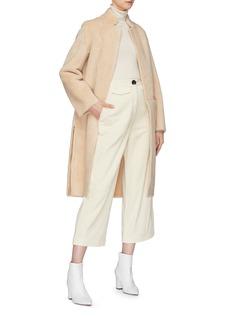 Mijeong Park Wool open coat