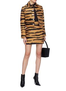 Proenza Schouler Tiger jacquard skirt
