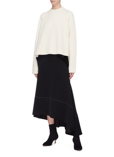 Proenza Schouler Side split rib knit sweater