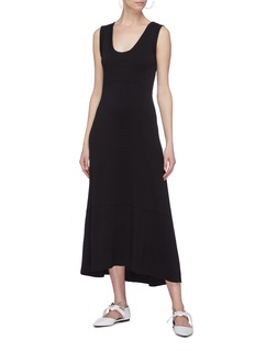 Proenza Schouler Tie cutout back dress