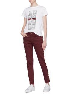 Tu Es Mon Trésor Pearl outseam jeans
