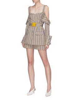 Silvia Tcherassi 'Sellian' stripe shorts