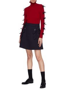 Shushu/Tong Bow wool skirt