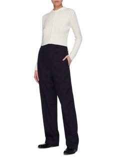 Shushu/Tong Detachable layered wool pants