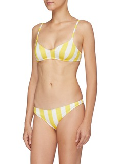 Solid & Striped 'The Rachel' stripe bikini top