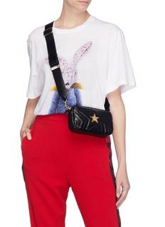 Stella McCartney 'Stella Star' faux leather bum bag