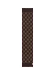 Gucci GG wool-silk scarf