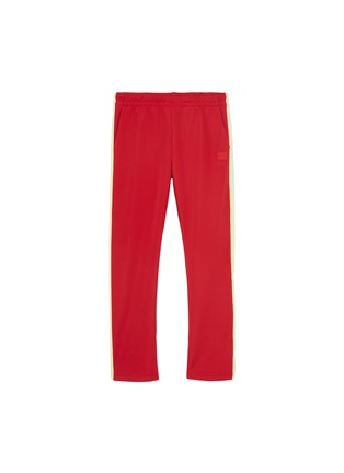 Main View - Click To Enlarge - Acne Studios - 'Mini Norwich Face' patch kids track pants