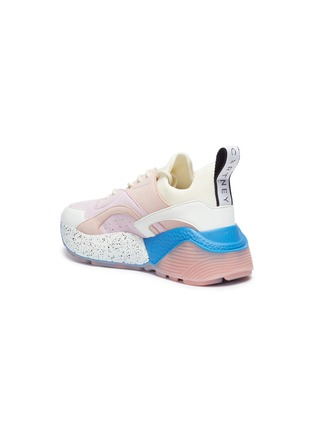 Detail View - Click To Enlarge - Stella McCartney - 'Eclypse' faux suede and leather chunky outsole sneakers