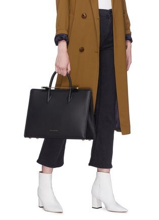 Figure View - Click To Enlarge - STRATHBERRY - 'The Strathberry' leather tote
