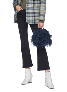 Strathberry 'The Strathberry Nano' shearling tote