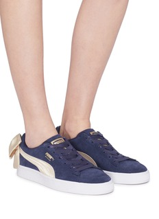 Puma 'Suede Bow Varsity' sneakers