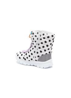 Sophia Webster 'Nevah Butterfly Mini' polka dot padded toddler snow boots